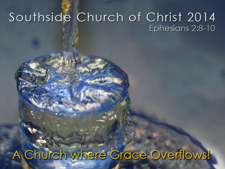 A Church Where Grace Overflows (2014 Theme)